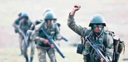 KORAL köreltti, 6 bin Türk askeri ve 25 tank Kuzey Irak'a girdi