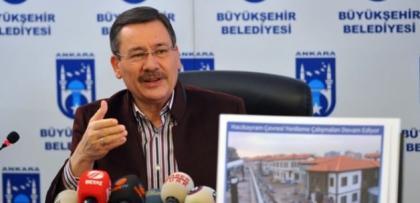 Melih Gökçek'ten Ankara düşmanı Mimarlar Odası'na tepki
