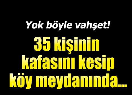 Arap Şemiyye Birliği, Türkmenleri IŞİD'e sattı.. 35 kafa kestiler