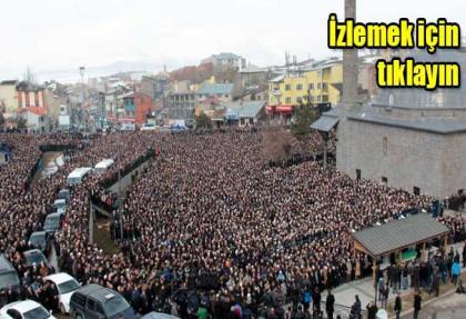 Mehmet Kırkıncı hocaefendi'yi 20 bin kişi uğurladı