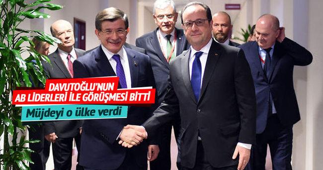 ve Müjdeyi o ülkenin Başbakanı verdi: AB-Türkiye anlaşması tamam!