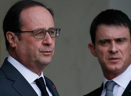 """Akıllanıyorlar: Fransa Başbakanı Manuel Valls: """"Savaştayız!"""""""