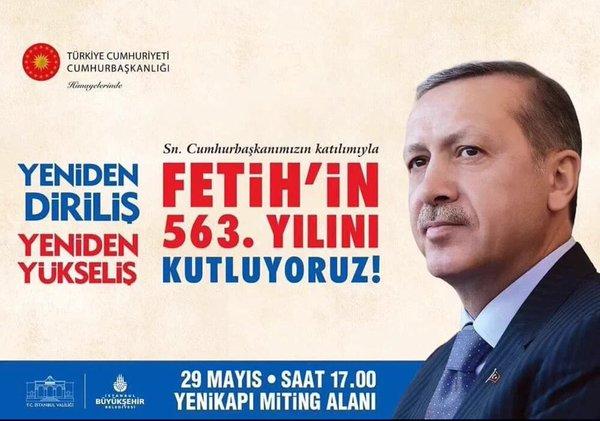 İstanbul'un Fethi'nin 563. Yılında Görkemli Kutlama