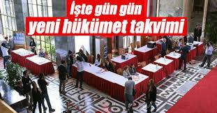 Yeni hükümetin kuruluş takvimi nasıl?