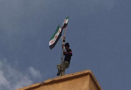 ÖSO, Cerablus'a bayrağı dikti.. 46 IŞİD'li öldürüldü