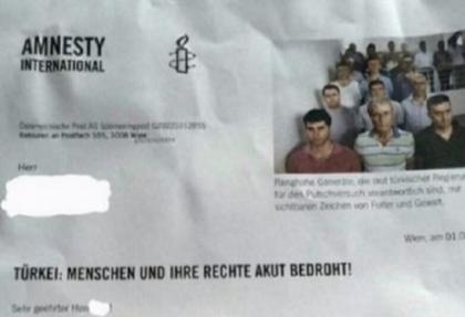 """Uluslararası Af Örgütü FETÖ'ye yardım parası topluyor: """"Her avro çok önemli"""""""