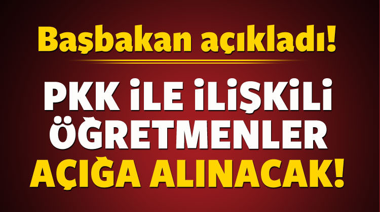 FETÖ'cüler yetmez, PKK'lı öğretmenler de atılacak!