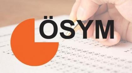 2017 sınav takvimi ÖSYM tarafından ilan edildi