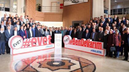 135 sivil toplum kuruluşu EVET diyeceğini açıkladı