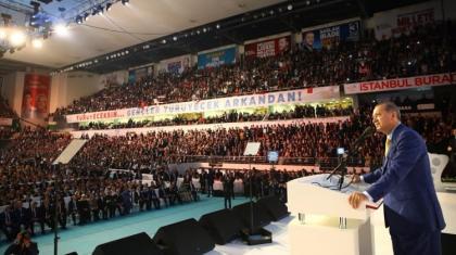 AK Parti Genel Başkanı seçilen Erdoğan'dan yeni dönemin ismi