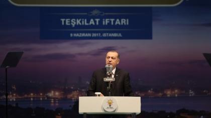 Cumhurbaşkanı Erdoğan'dan keskin Katar açıklaması