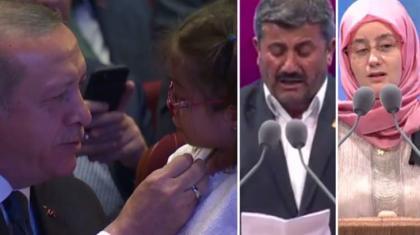 İkiz Gölbaşı şehitlerinin babası şiir okudu, Türkiye ağladı..
