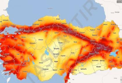 Türkiye'nin GÜNCEL son DEPREM haritası YAYIMLANDI