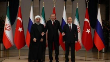 """Zirvede 3 lider ima etti ama söylemedi: """"DEAŞ, ABD'nin ta kendisidir"""""""