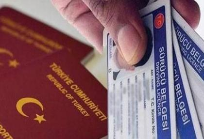 'pasaport ve ehliyet'te yeni donem