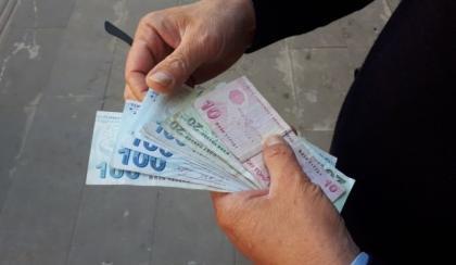 tek sarti var! emekliye 600 lira