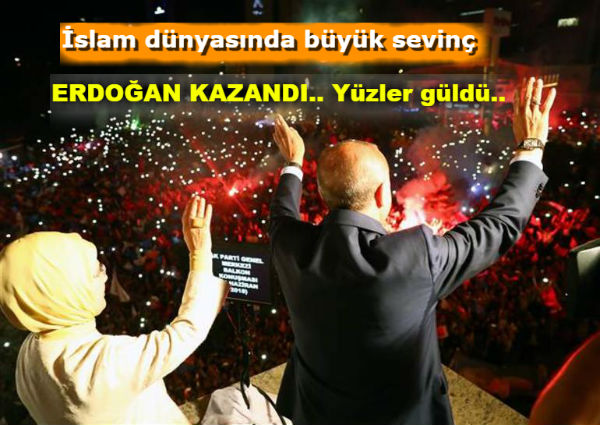 24 Haziran'da Türkiye ERDOĞAN dedi.. İşte sonuçlar..