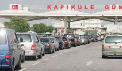 Sınır kapıları canlandı.. Türkiye'ye akın ediyorlar..