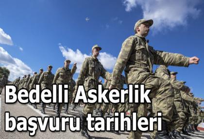 Bedelli askerlik başvurusu için 27, 28, 29 Ekim..