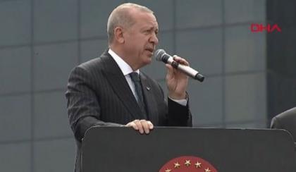 """Erdoğan: """"CHP adayının sicili, Sayıştay raporlarıyla tespitli şekilde bozuk"""""""