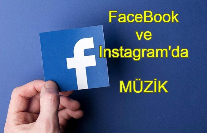 Instagram ve Facebook'a müzik özelliği geldi