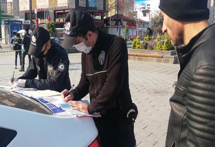 Sokağa çıkma yasağını delenler PİŞMAN edildi.. Kesilen ceza Kaç Lira?