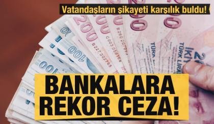 Bankalara yine ceza yağdı ama umurlarında değil