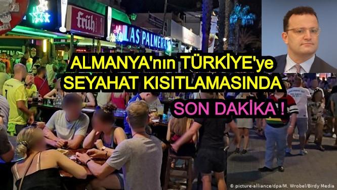 """Alman Bakan Spahn: """"Türkiye çok çaba harcıyor, biliyorum!"""""""