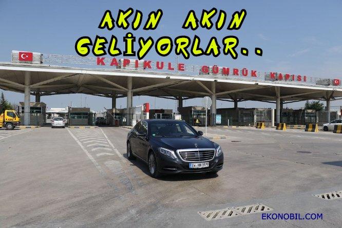 Kapıkule'de araç trafiği: 1 ayda 102 bin 586 yolcu