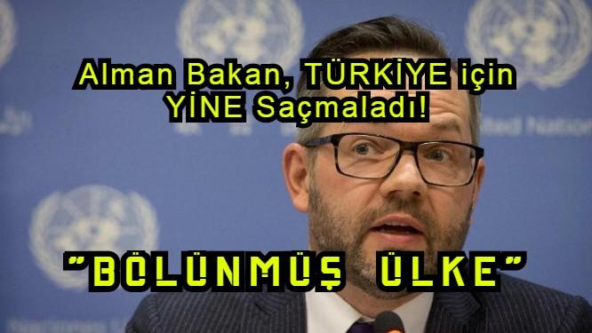 """Alman Bakan Michael Roth skandalı: """"Türkiye BÖLÜNMÜŞ ÜLKE"""""""