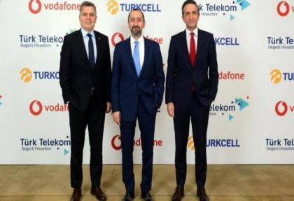 Turkcell, Turk Telekom ve Vodafone'dan onemli is birligi