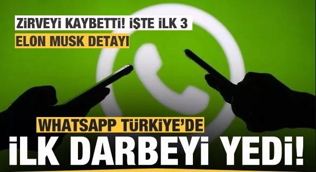 Whatsapp'a Türkiye darbesi! İlk 3 değişti! Telegram, BiP ve..