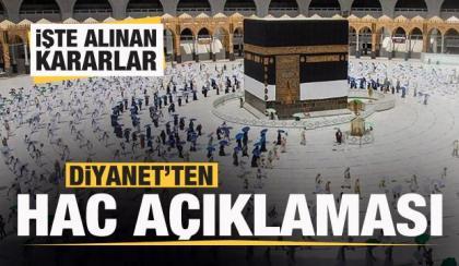 Diyanet, Türkiye için yeni HACCA GİTME kararlarını açıkladı